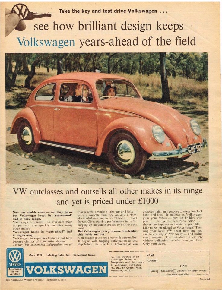 1702 best Volkswagen images on Pinterest | Vintage cars, Vw beetles ...