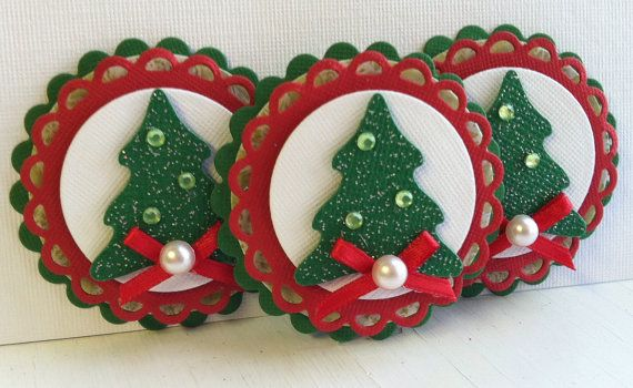 Hey, I found this really awesome Etsy listing at https://www.etsy.com/listing/114589436/sweet-christmas-embellishments-green