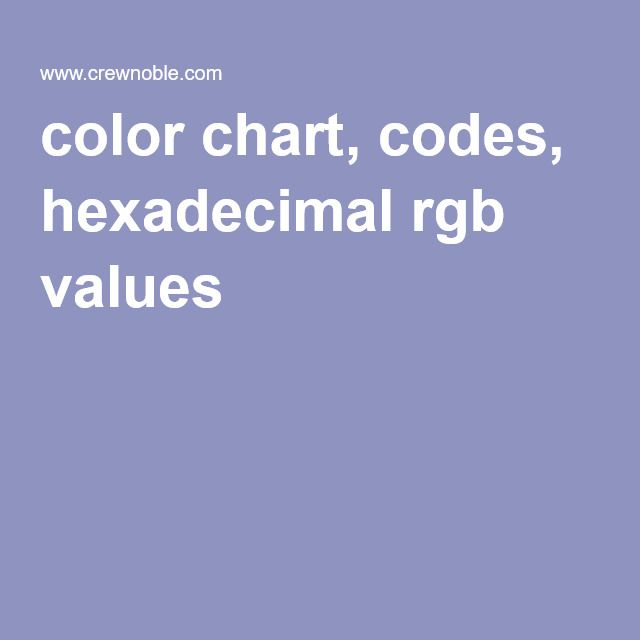 Best 25+ Hexadecimal chart ideas on Pinterest Color codes, Hex - html color code chart