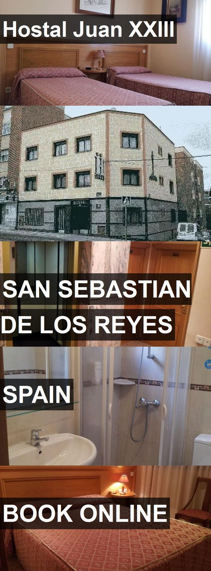 Hotel Hostal Juan XXIII in San Sebastian de los Reyes, Spain. For more information, photos, reviews and best prices please follow the link. #Spain #SanSebastiandelosReyes #travel #vacation #hotel