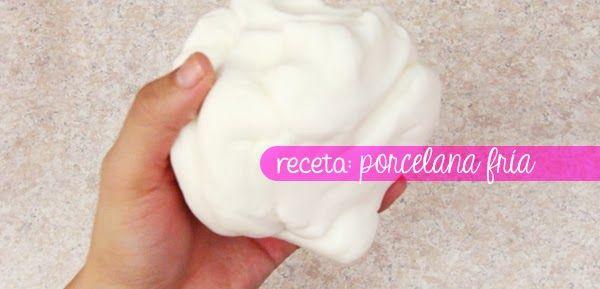 ¡ Como hacer tu propia Porcelana Fría ! base para miles de ideas...