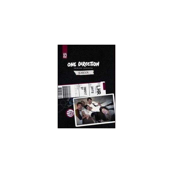 FYE: Music - Take Me Home [Deluxe Yearbook Edition] One Direction / CD... ($13) ❤ liked on Polyvore featuring one direction