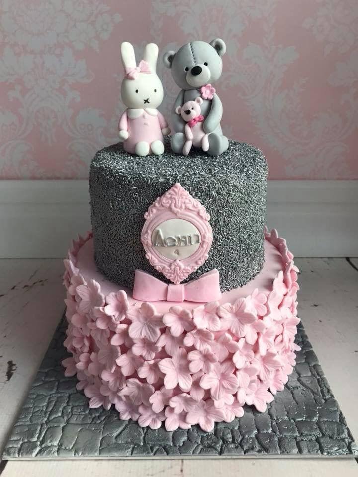 Brilliant Rabbit And Teddy Bear Birthday Cake Teddy Bear Birthday Cake Funny Birthday Cards Online Drosicarndamsfinfo