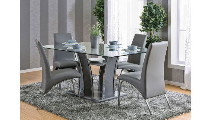 Hulo Grey Dining Table Set Modern Dining Room Set Modern Dining