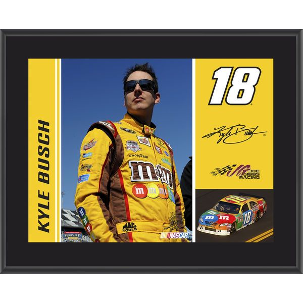"Kyle Busch Fanatics Authentic 10.5"" x 13"" Sublimated Plaque - $29.99"
