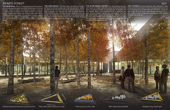 AIDS Memorial Park Design Competition
