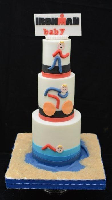 Iron Man Baby Shower Cake