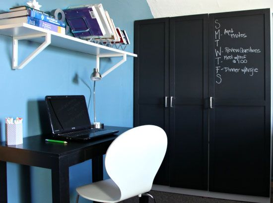Ikea Glass Cabinet Philippines ~ IKEA Dombas Armoire Hack  Home Office  Pinterest  Armoires, Hacks