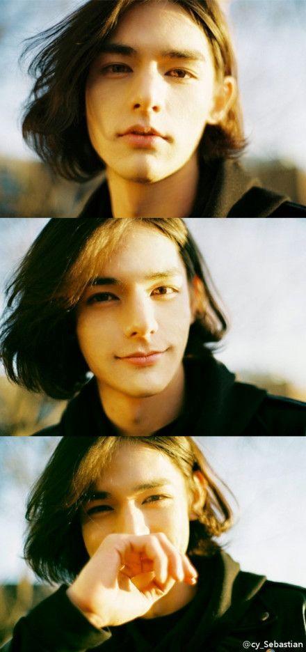 men's long hair style