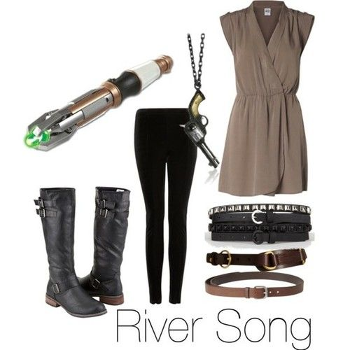 River Song/ Melody Pond Geek fashion...me likey!