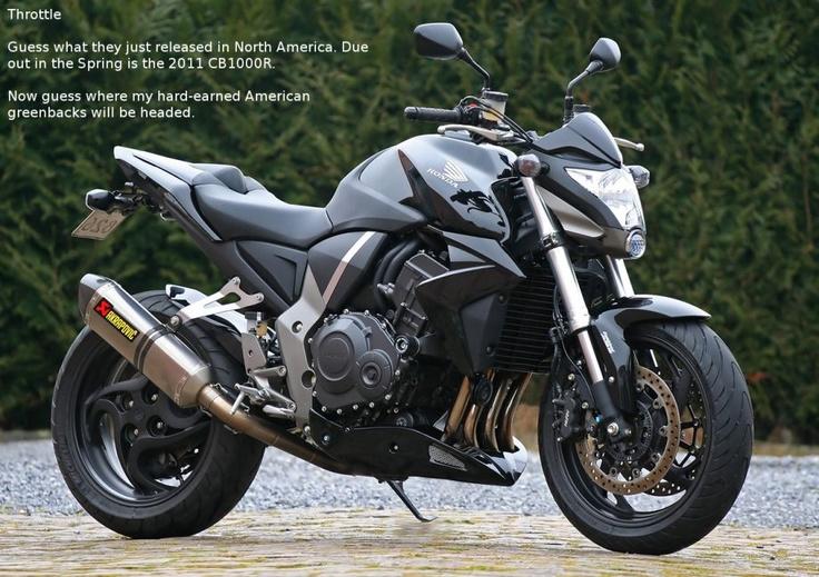 Honda CB1000R!