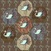 piume di cristallo - emanuelletomato - Spoonflower