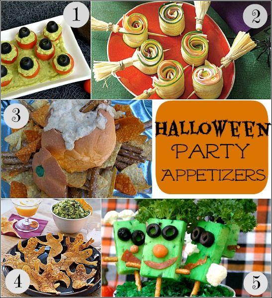 Halloween Party Appetizers :: HoosierHomemade.com