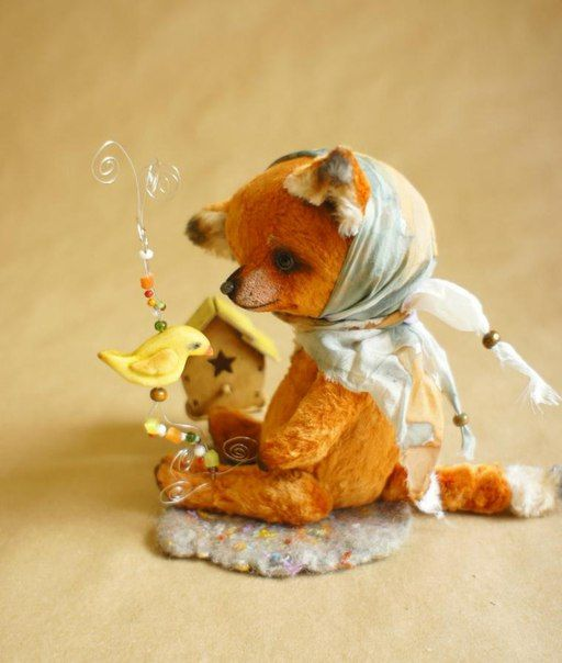 Free Plush Fox Pattern