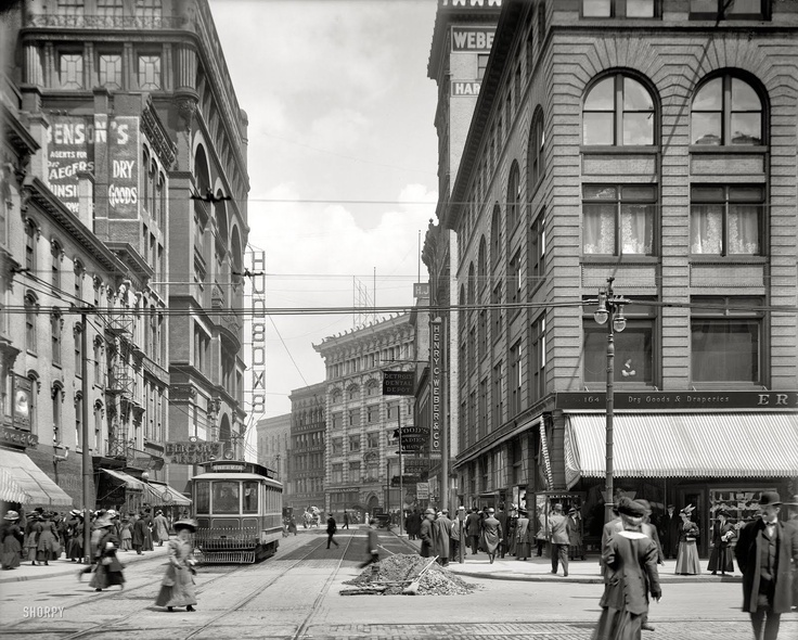 Street View 1908 Detroit Gratiot And Woodward