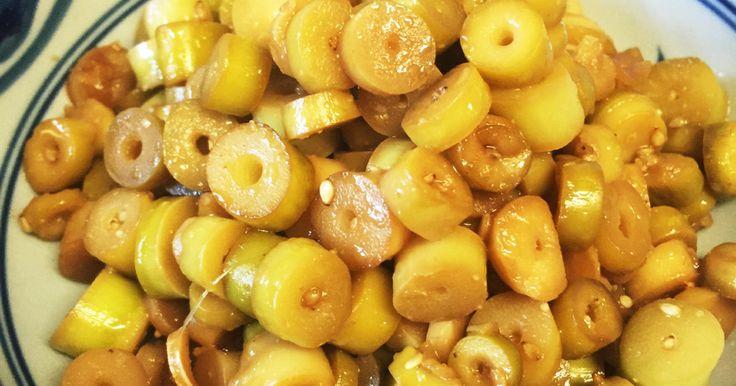 姫たけのこ(細竹)のごま油醤油炒め by 3匹のこぐま [クックパッド] 簡単おいしいみんなのレシピが270万品