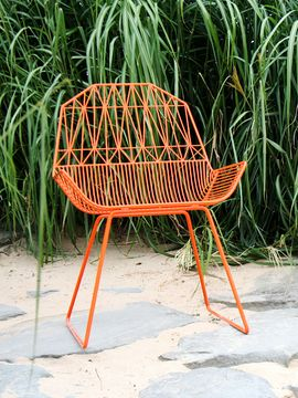 Farmhouse Lounge Chairs (Set of 2) from Eclectic Outdoor on Gilt