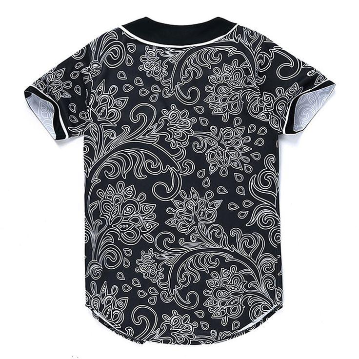 2016 automne hiver bandana imprimer nouveauté t shirt hommes manches courtes v cou hommes t shirt clothing camisetas hommes t shirt plus la taille dans T-Shirts de Hommes de Vêtements et Accessoires sur AliExpress.com | Alibaba Group