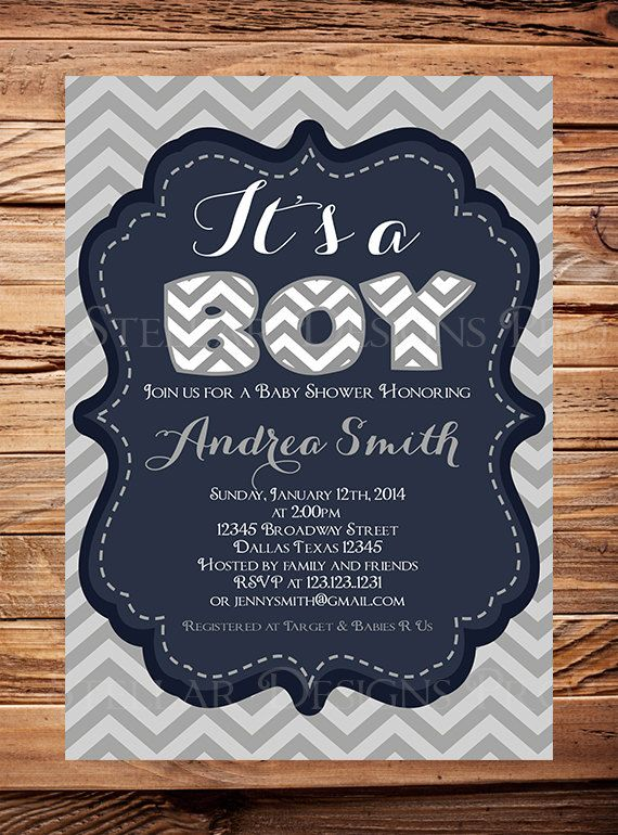 Hey, I found this really awesome Etsy listing at https://www.etsy.com/listing/175943654/baby-shower-invitation-boy-baby-boy