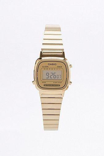*URBAN OUTFITTERS - CASIO || Gold face watch | Reloj de oro
