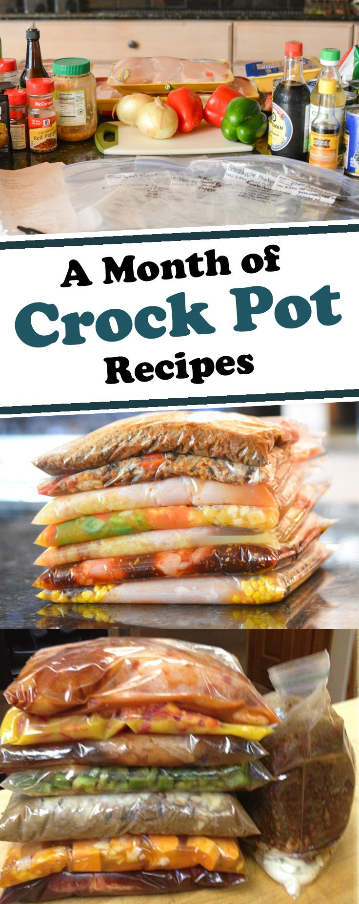 Are you interested in stocking your freezer with crock pot freezer meals? Check out our tips to help you stay on budget and stock your freezer full of ready to make meals.