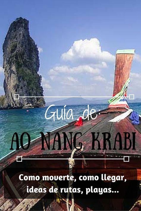 Después de 36 días días viviendo en Ao Nang, nos vamos cargados de información y consejos mochileros que contarte para que puedas así aprovechar al máximo esta pequeña ciudad costera al sur de Tailandia. En este artículo vas a encontrar consejos sobre:   ¿Porqué 36 días en la provincia de Krabi? Donde está exactamente