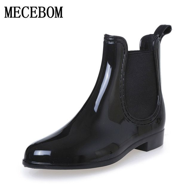 We love it and we know you also love it as well Rubber Boots 2017 Waterproof Trendy Jelly Women Ankle Rain Boot Elastic Band Solid Color Rainy Shoes Women 628W just only $15.28 - 18.34 with free shipping worldwide  #womenshoes Plese click on picture to see our special price for you
