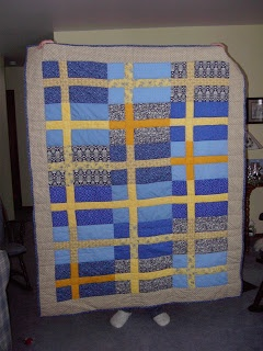 The Domestic Groove: Swedish Dala Horse and Flag Quilt