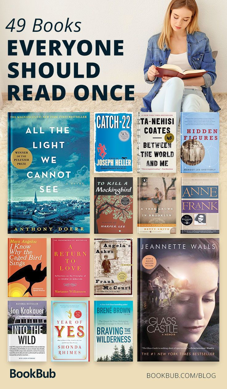 56 Books And Novels That Everyone Should Read In Their Lifetime Book Club Books Books Everyone Should Read Book Challenge