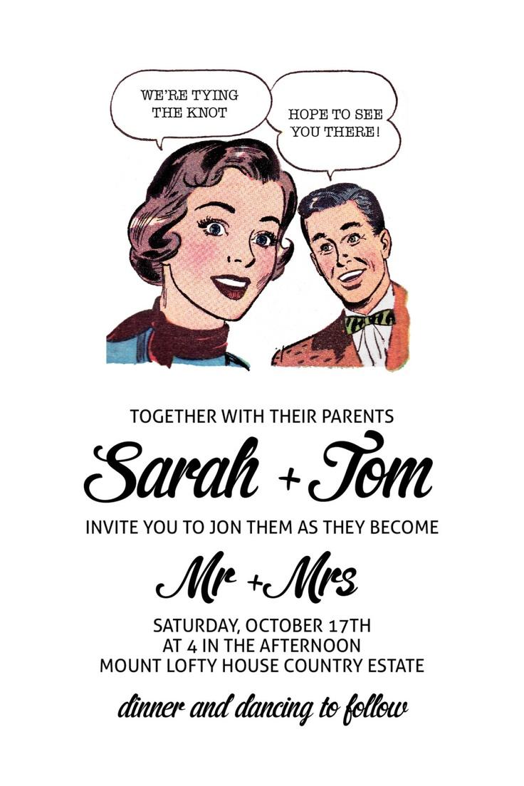 RETRO invitations