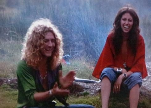 Robert Plant & wife Maureen