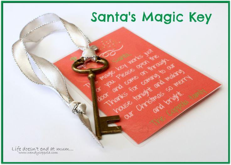 Santas Magic Key - www.wendycoppola.com