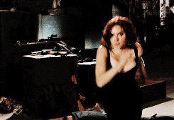 "Natasha Romanoff - ""thigh grip attack"" (As Jeremy Renner puts it)"
