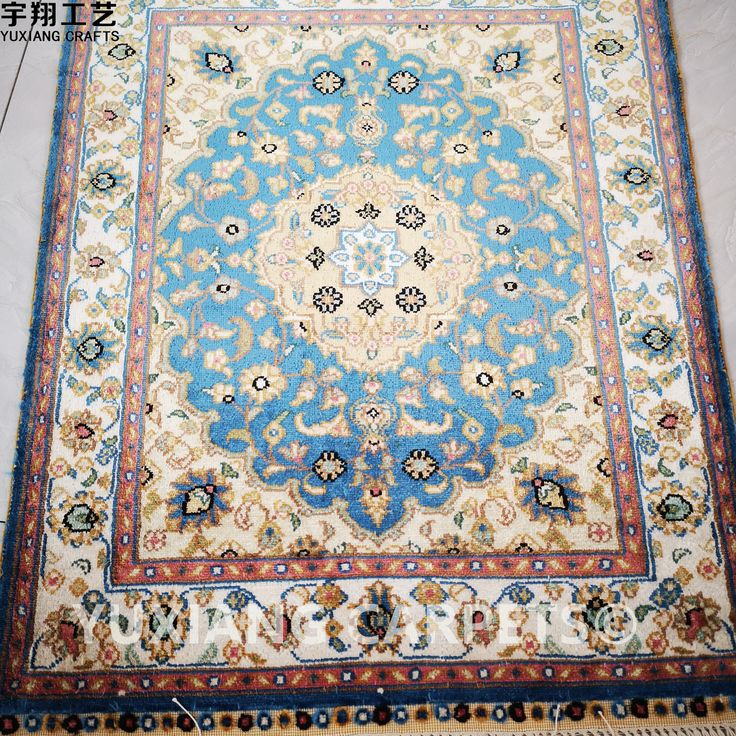 Silk handknotted carpets with beautiful persian designs