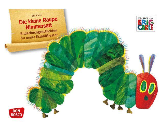 Die kleine #Raupe #Nimmersatt #Bildkarten für das #Erzähltheater #Kamishibai #betzoldkiga #betzold #kiga #kita #kindergarten #theater