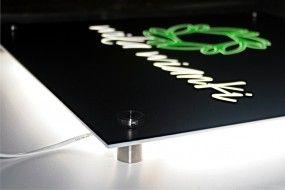 Tablice reklamowe z plexi, podświetlane, Lightbox - AREK Agencja Reklamowa Mińsk Mazowiecki