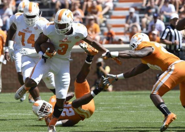 WR Josh Malone, Tennessee (College Football most impressive freshman performances in Spring Games so far....