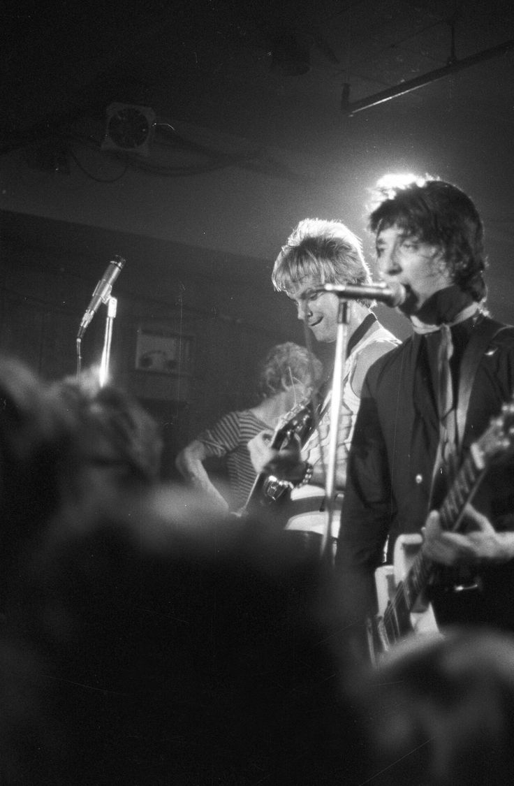 Johnny Thunders & The Heartbreakers, The Horseshoe, photo by Patrick Cummins 1978