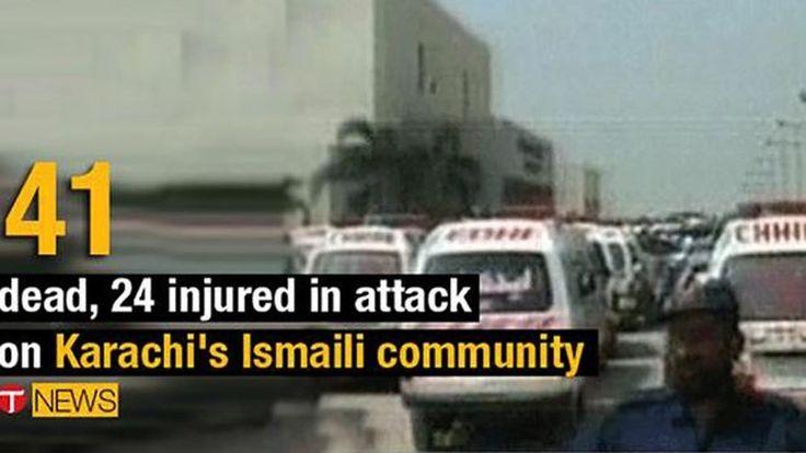 In Pakistan zijn woensdag bij een aanslag op een bus in Karachi zeker 41 doden gevallen. Aan boord van de bus bevonden zich voornamelijk moslims van een sjiitische minderheid, de isma'ilieten. Dat hebben de plaatselijke autoriteiten laten weten.  Minstens zes gewapende mannen op motoren openden het vuur op de bus. Ze zouden de bus zowel van buitenaf hebben beschoten, als de bus zijn binnengegaan. Onder de slachtoffers bevinden zich volgens de autoriteiten 25 mannen en 16 vrouwen.  De aanslag…