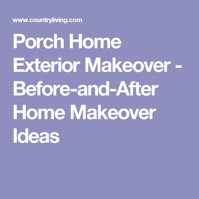 Before And After Home Makeovers: 1000+ Ideas About Exterior Makeover On Pinterest