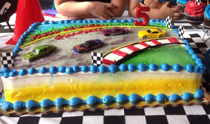 Cake From Publix Race Car Party 5th Birthday Pinterest