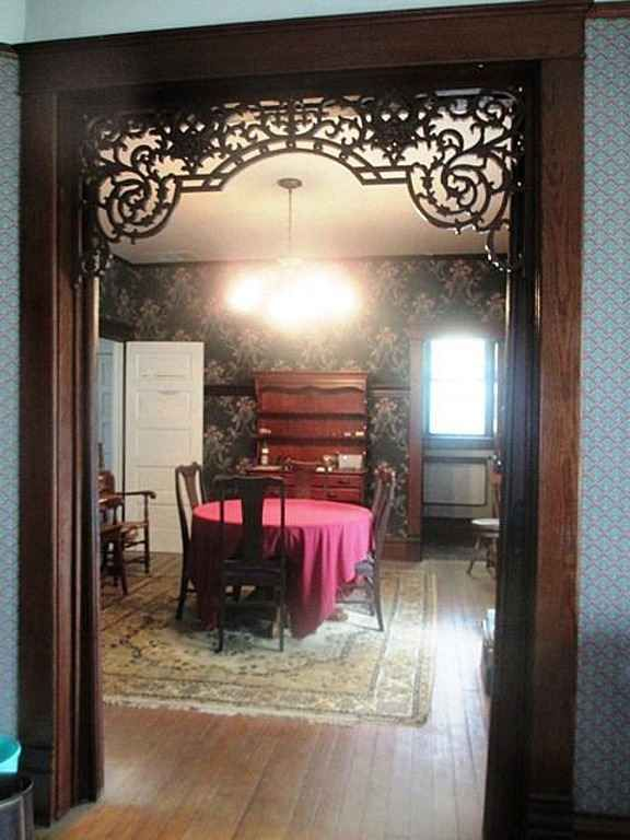 So everything in the dining room has to go but that transom - WOOF!