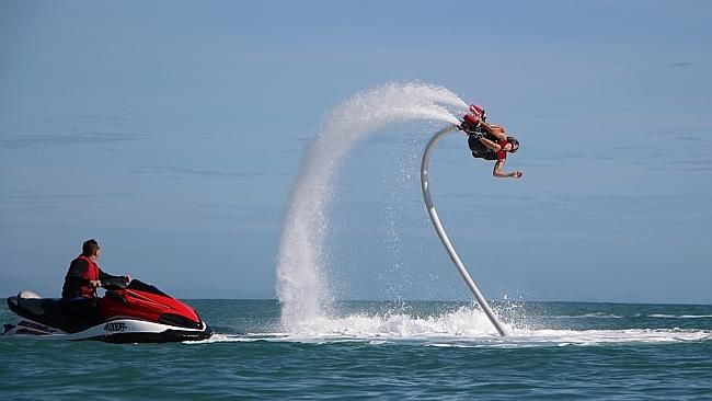 Flyboard Cairns at $179 Call Us 1300 731 620 or visit http://www.fnqapartments.com/tour-flyboard-cairns/area-cairns/ #cairnstour