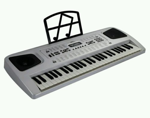 Electric Piano Keyboard 54 Key Piano Organ with Microphone Recording #Unbranded