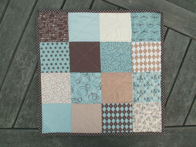 12 Little Quilt of Love #20 by Alphenquilts, via Flickr