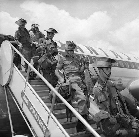Dates of the vietnam war in Sydney