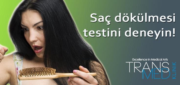 Düşündüğünüzden daha çok saçınız dökülüyor mu? Test Edin...  on.fb.me/VOqnrX