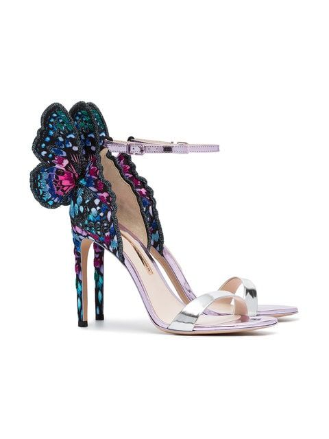 b0e5eed60fe Sophia Webster Multicolour Chiara 100 Sandals - Farfetch