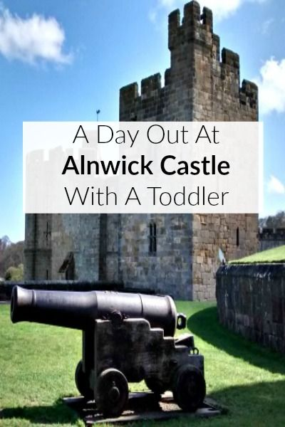 A day out at Alnwick Castle with a toddler #northumberland #daysout