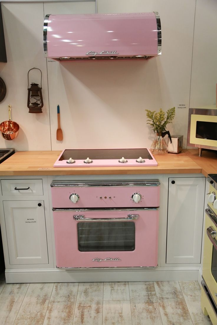 Lemonade Pink 30'' Wall Oven. Cooking and #baking never looked so stylish
